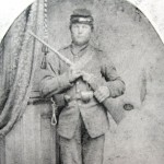 Charles A. Gibson, 1st Maryland Cavalry, Potomac Home Brigade, Co. C (U.S. Army Military History Institute)