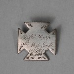 Corps badge belonging to Dr. Wheeler, 8th Maryland Infantry (Antietam National Battlefield)