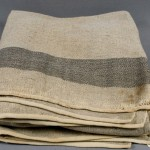 U.S. Army blanket used during the Civil War (Monocacy National Battlefield)