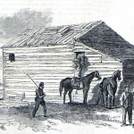 After the Battle of Antietam, Union cavalrymen find Confederate stragglers in an old barn near Frederick, Maryland (Frank Leslie's Illustrated News, November 1, 1862; courtesy of Princeton University Library)