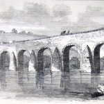 Union General Ambrose Burnsides corps crossing the Monocacy Bridge (also known later as Jug Bridge) on the way to Frederick (Edwin Forbes, artist; Frank Leslies Illustrated News, October 4, 1862; courtesy of Princeton University Library)