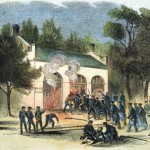 Marines storming the engine house (National Park Service)