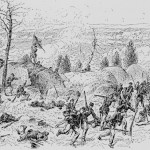 Fighting in the Devil's Den on July 2, 1863 (1888; Library of Congress)