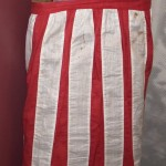 Ladies patriotic Civil War apron, worn by Mary Himes Fox of New Bethlehem, PA (Gettysburg National Military Park)
