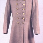 In the spring of 1864, a Baltimore merchant secretly sent a shipment of supplies to the Confederacy, including this uniform coat. The coat was a gift to Robert E. Lee from the women Southern sympathizers of Frederick and Carroll Counties in Maryland. (Courtesy of the Virginia Historical Society)