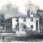 The Charlestown courthouse as it appeared in 1864 (Frank Leslies Illustrated Newspaper, September 24, 1864; Courtesy of Princeton University Library)