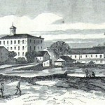 Chambersburg as it appeared when Confederates entered the town on October 10, 1862 (Mr. Davis, artist; Harper's Weekly, November 1, 1862; NPS History Collection)