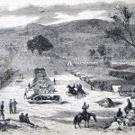 The 5th U.S. Artillery, attached to General Burnside's forces, camped at Pleasant Valley, Maryland (The New-York Illustrated News, November 15, 1862; courtesy of Princeton University Library)