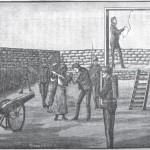 The gallows being prepared for John Brown (William T. Alexander, History of the Colored Race in America [Kansas City: Palmetto, 1899, 8th edition], 410)
