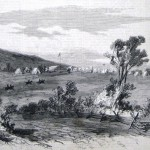 The previous sketch as it appeared in The New-York Illustrated News, November 8, 1862; A. Lumley is listed in the newspaper as the artist, although Alfred Waud supposedly drew the original sketch (A. Lumley, artist; The New-York Illustrated News, November 8, 1862; courtesy of Princeton University Library)