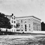 Another view of Mount St. Mary's College (July 1863, James F. Gibson or Timothy H. O'Sullivan, photographer; Library of Congress)