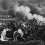 """""""The Battle of Antietam"""" (color lithograph by Currier & Ives; Library of Congress)"""