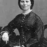 Clara Barton, the Angel of the Battlefield, who risked her life to bring aid and comfort to wounded soldiers on the battlefield (National Park Service)