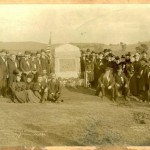 The 11th Connecticut monument dedication at Antietam in 1894 (Courtesy of http://www.14thconnecticut.org/)