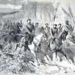 Confederate cavalry scouting near Frederick, MD (The New-York Illustrated News, September 27, 1862; courtesy of Princeton University Library)