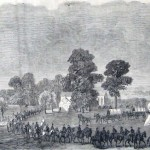 Federal soldiers retreating through Charlestown, August 21, 1864 (Frank Leslie's Illustrated Newspaper, September 17, 1864; J.E. Taylor, artist; courtesy of Princeton University Library)