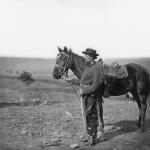A Union cavalry orderly (Alexander Gardner, photographer, October 1862; Library of Congress)