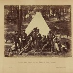 Scouts and guides to the Army of the Potomac (Alexander Gardner, photographer, October 1862; Library of Congress)