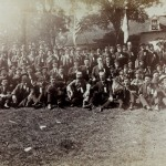 Reunion of veterans of the 14th Connecticut at Antietam in 1894 (Courtesy of http://www.14thconnecticut.org/)
