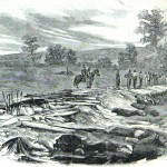 A sketch of the previous image (Harper's Weekly, October 18, 1862; NPS Historical Collection)