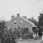 Another view of the Thompson home. (July 1863; Library of Congress)