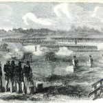 Punishment in the army could be harsh. Three Union soldiers are executed in 1863 near Leesburg, VA, for desertion. (Harper's Weekly, August 8, 1863; NPS History Collection)