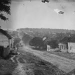 The village of Sharpsburg after the Battle of Antietam (September 1862, Alexander Gardner, photographer; Library of Congress)