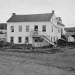 John Burns' house in Gettysburg (July 1863; Timothy H. OSullivan, photographer; Library of Congress)