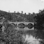 A view of Middle Bridge on Antietam Creek (September 1862, James F. Gibson, photographer; Library of Congress)