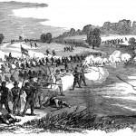 Union troops charge the Confederate lines on South Mountain (Frank Leslie's Illustrated Newspaper, October 4, 1862; F.H. Schell, artist; Florida Center for Instructional Technology, http://etc.usf.edu/clipart)