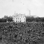 A distant view of St. Joseph's College (July 1863, Alexander Gardner, photographer; Library of Congress)