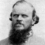 Confederate Colonel Nathan G. Evans, commander of Southern troops at the Battle of Ball's Bluff (NPS History Collection)