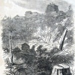 Printed version of the previous sketch (A. R. Waud, artist; Harpers Weekly, November 15, 1862; NPS History Collection)