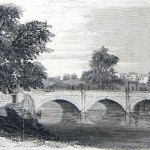 The Conococheague Aqueduct at Williamsport, damaged in the Confederate retreat from Gettysburg (Frank Leslie's Illustrated Newspaper, August 1, 1863; C.E.H. Bonwill, artist; courtesy of Princeton University Library)
