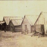 Different view of the camp in the previous photograph (MOLLUS Collection, U.S. Army Military History Institute)