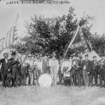 """Under Blue & Gray,"" at the 50th anniversary of the Battle of Gettysburg in 1913 (Library of Congress)"