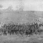 The encampment of the 93rd New York Infantry after the Battle of Antietam (Alexander Gardner, photographer, September 1862; Library of Congress)