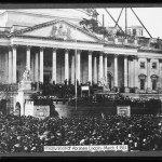 The inauguration of Abraham Lincoln on March 4, 1861 (Library of Congress)