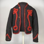 Zouave jacket likely worn by a musician in the 5th New York Volunteers (Antietam National Battlefield)