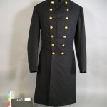 Field grade officers artillery frock coat and trousers of Capt. John A. Tompkins, Battery A, 1st Rhode Island Artillery (Antietam National Battlefield)