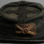 Artillery kepi worn by Captain John A. Tompkins, Battery A, 1st Rhode Island Artillery (Antietam National Battlefield)