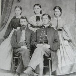 Albert M. Hunter (left), 1st Maryland Cavalry, Potomac Home Brigade, Co. C and Daniel Link (right), 1st Maryland Cavalry, Potomac Home Brigade, Co. A (U.S. Army Military History Institute)
