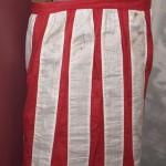 A patriotic Civil War apron, worn by Mary Himes Fox of New Bethlehem, PA (Gettysburg National Military Park)