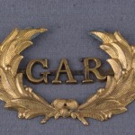 Grand Army of the Republic (GAR) pin. The GAR was a Union veterans organization. (Monocacy National Battlefield)